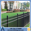hot sale high quality 72'' width metal residential fence with flush bottom manufacture