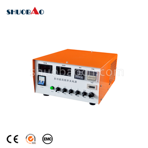 ShuoBao electroplating barrel machine with 380v gold rectifier