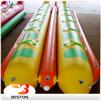 Outdoor Adults Exciting Water Game inflatable tube towable banana boat