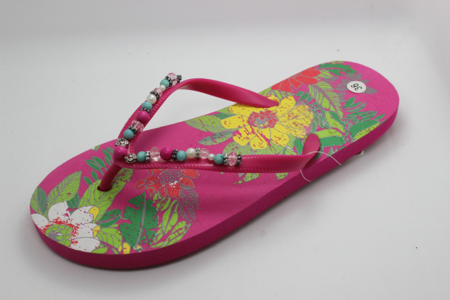 3f6b6dc0c7df3a Teen Thong Slippers beach Flip Flop Slipper beaded Flip Flops - Buy ...