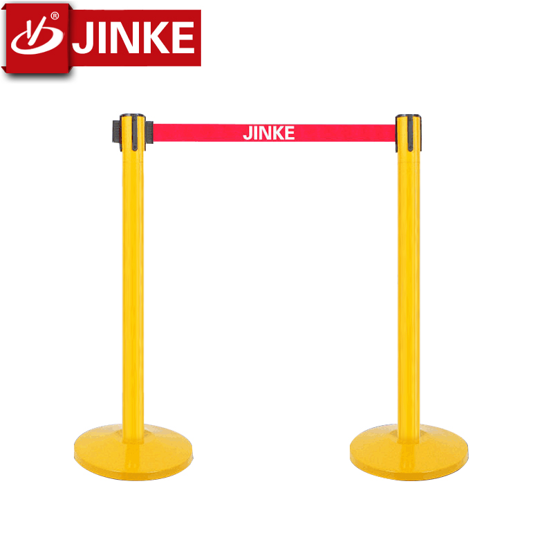 Cinta retr/áctil para barrera de cola 2//5 m correa roja Stanchion Queue Barrier soporte de pared cinta retr/áctil
