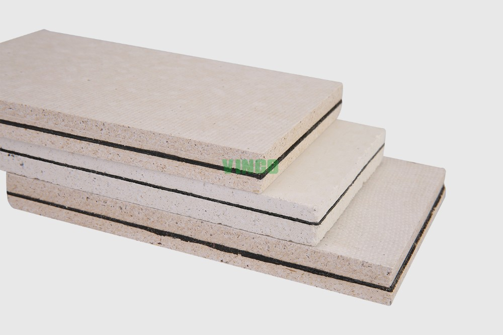 Sound Absorbing Gypsum Board : Light weight waterproof fire rated mgo insulated interior