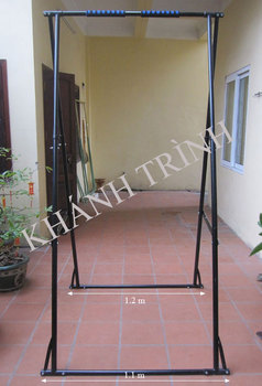 Height Adjustable Indoor Portable Folding Pull Up Bar Increasing Height And  Treating Office Diseases