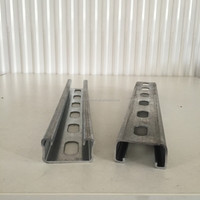 bottom price galvanized steel strut channel