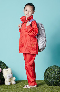 Fashion Nylon raincoat waterproof/children raincoat/raincoat PVC