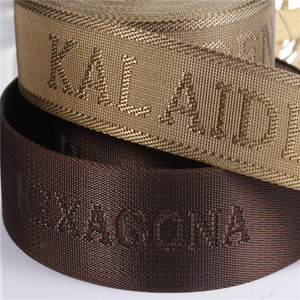 2018 New Custom Printed Nylon Webbing Belt,Jacquard Nylon Webbing Strap with Custom Printed Nylon Webbing Belt