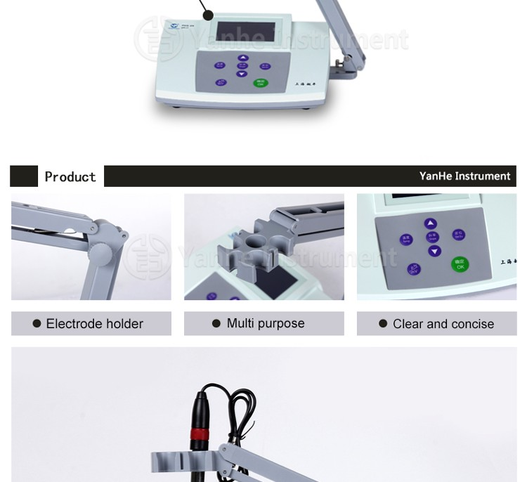 PHS-25 LCD Screen Display high quality Cheap Price Table top PH Meter Wholesale
