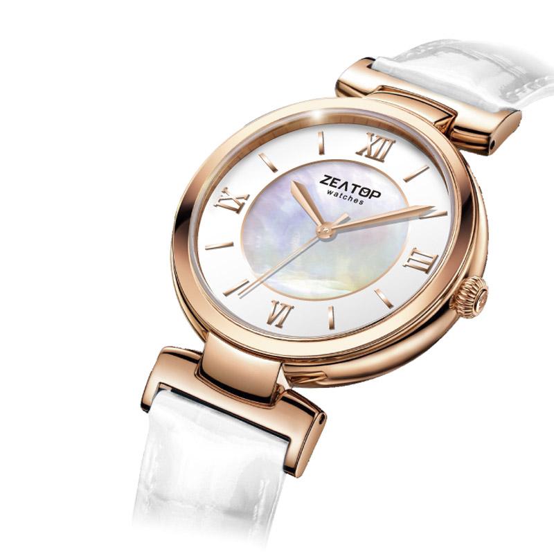 33MM Simple Design Slim Case Japanese Miyota Movement Quartz Fancy Brands Wrist Watch Women