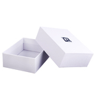 Wholesale white paper cardboard folding box custom gift packaging box manufacturer