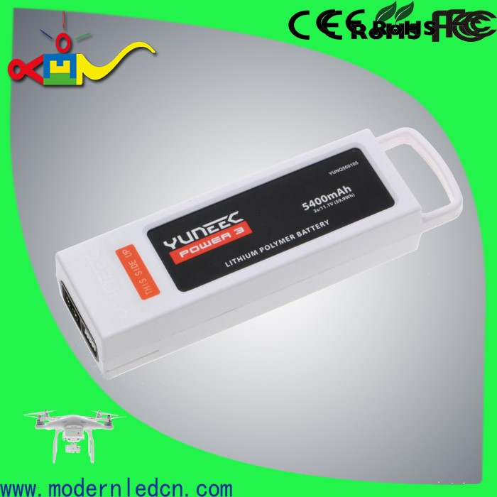 rechargeable yuneec q500 typhoon 5400mAh 3S 11.1V LiPo Battery For Horizon Hobby Q500