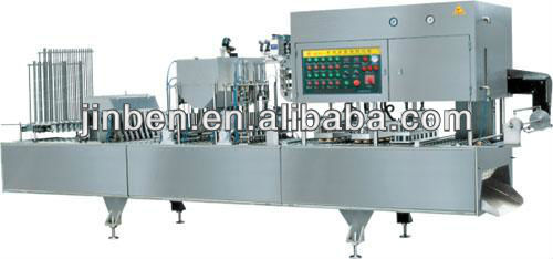 Pure water cup filling and sealing machines