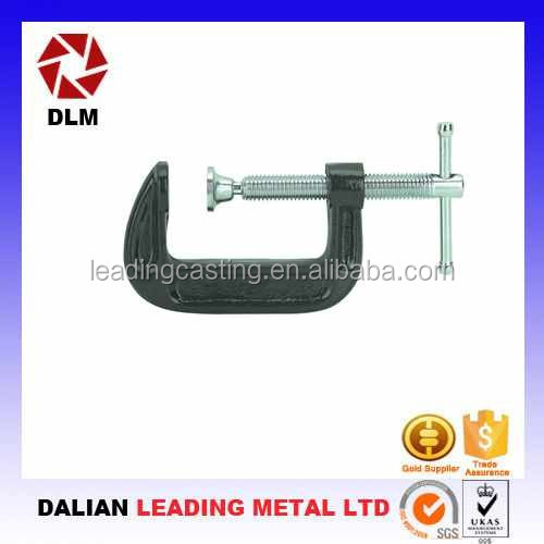 OEM customized ductile iron/malleable iron die casting precision Metal Stamping quick release wood working clamps