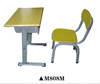 Light green school desk and chair for sale M808M