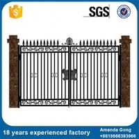 Complete In Specifications Steel Gates Tubular Grill Design Gate