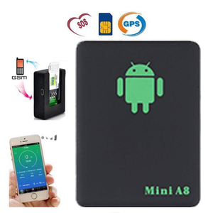 Mini A8 GSM GPRS LBS Tracker Global Real Time Tracking Device A8 Gps Tracker With SOS Button for Cars Kid Elder Pets
