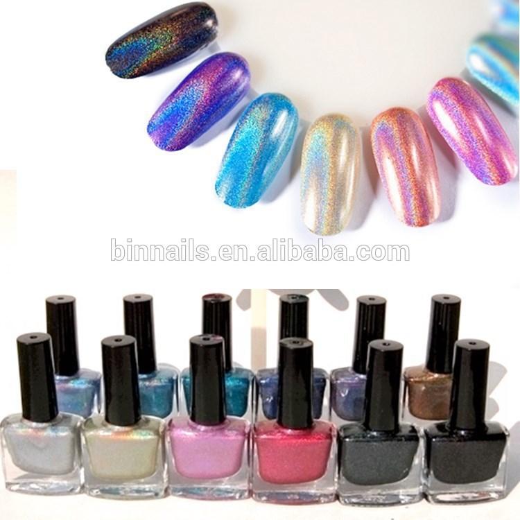 3d Hologram Color Club Nail Polish - Buy 3d Hologram Nail Polish ...
