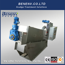 Automatic sludge dewatering and drying