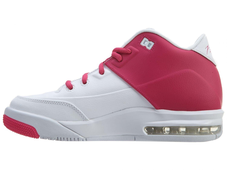 d6d7c45cd724 Get Quotations · Jordan Flight Origin 3 GG Girl s Shoes White Vivid Pink-White  820250-161