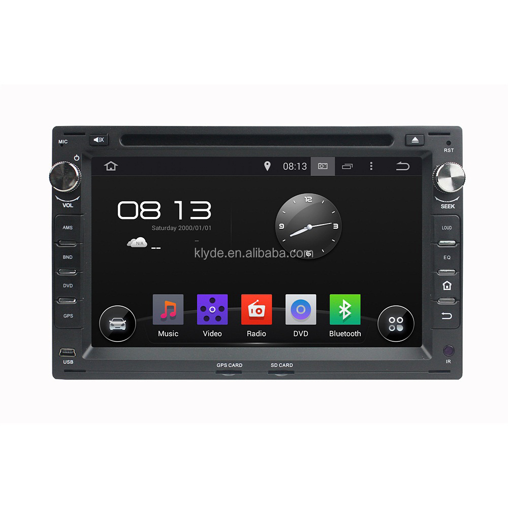 Multimedia Android 5.1.1 car dvd gps player with Radio/IPOD/Mirror Link/BT for VW Passat B5/Golf 4/ Polo/ Bora/Jetta /Sharan/T5