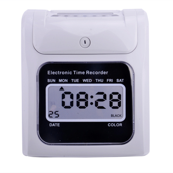 Top Selling Battery Backuped Punch Card Attendance Time Clock - Buy Time  Clock,Time Recorder,Time Attendance Product on Alibaba com