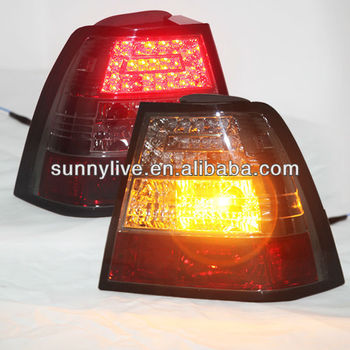 For Vw Jetta Rear Light Led Tail Lamp 1999 2004 Black Color Year