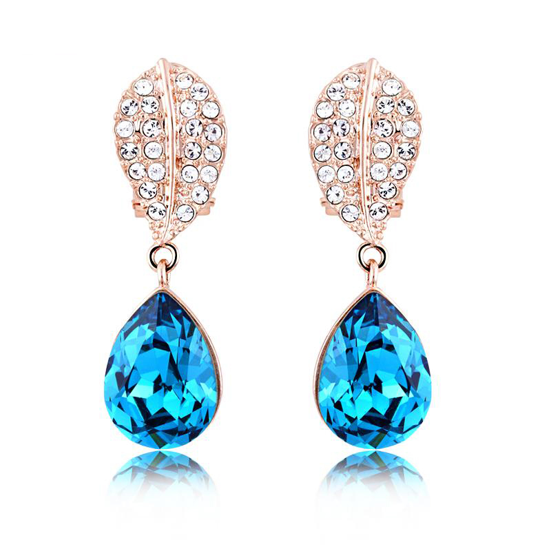 Ouxi New Gold Plated Rose Wholesale Aliexpress Hot Sale Ear Tops ...