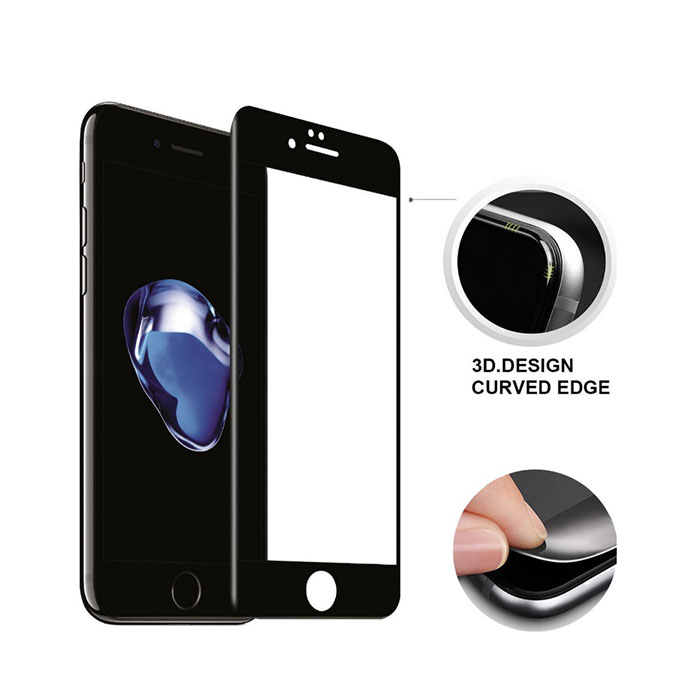 Mobile accessories 9H tempered glass for iphone 7 plus 5.5 inch screen protector film