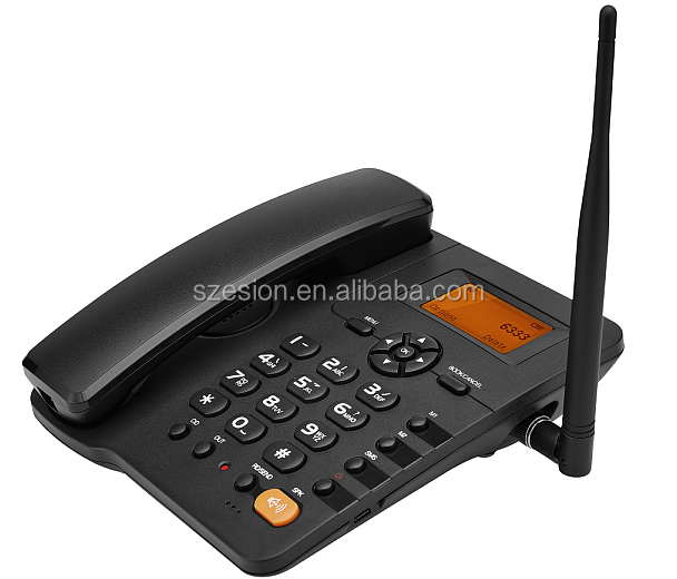3G UMTS WCDMA Fixed Wireless Telepon Fwp 850/900/1900/2100 M Hz Cordless Desktop Telepon