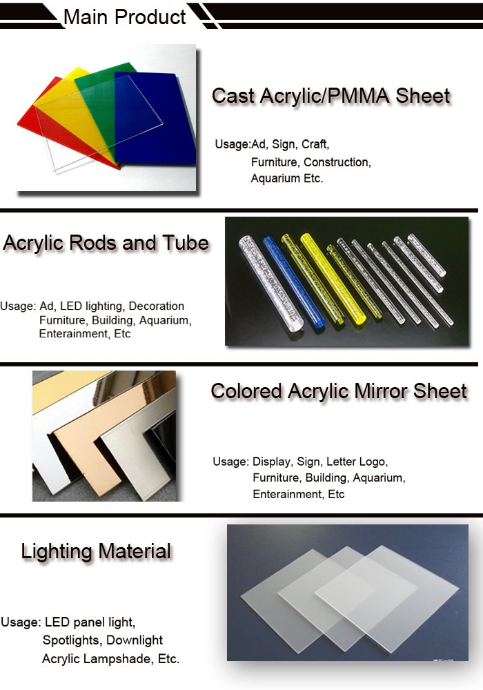 Cut To Size Plexiglass Acrylic Sheet Designs With Good Price