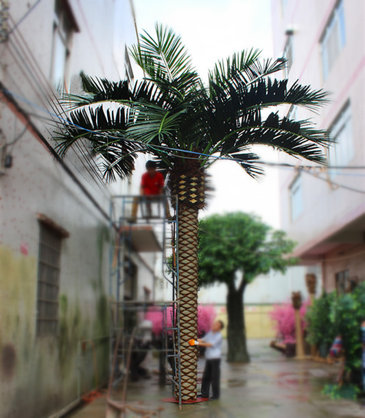 2014 good quality hot sale popular artificial date palm prices for decoration and landscaping