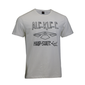 30454834 t shirts in bulk custom logo word print campaign white combed cotton jersey  t-shirt