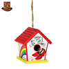 Factory custom made painted birdhouse designs resin ruby slippers birdhouse kits
