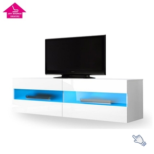 LED Models Wall Mounted TV Stand Wooden Furniture for Living Room