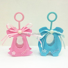 Best selling plastic Bottle Pouches Baby Shower Boy Favors decorations
