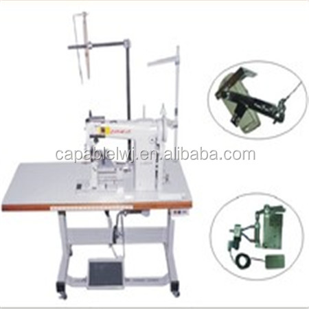 Industrial High Post bed sewing machine with cutter
