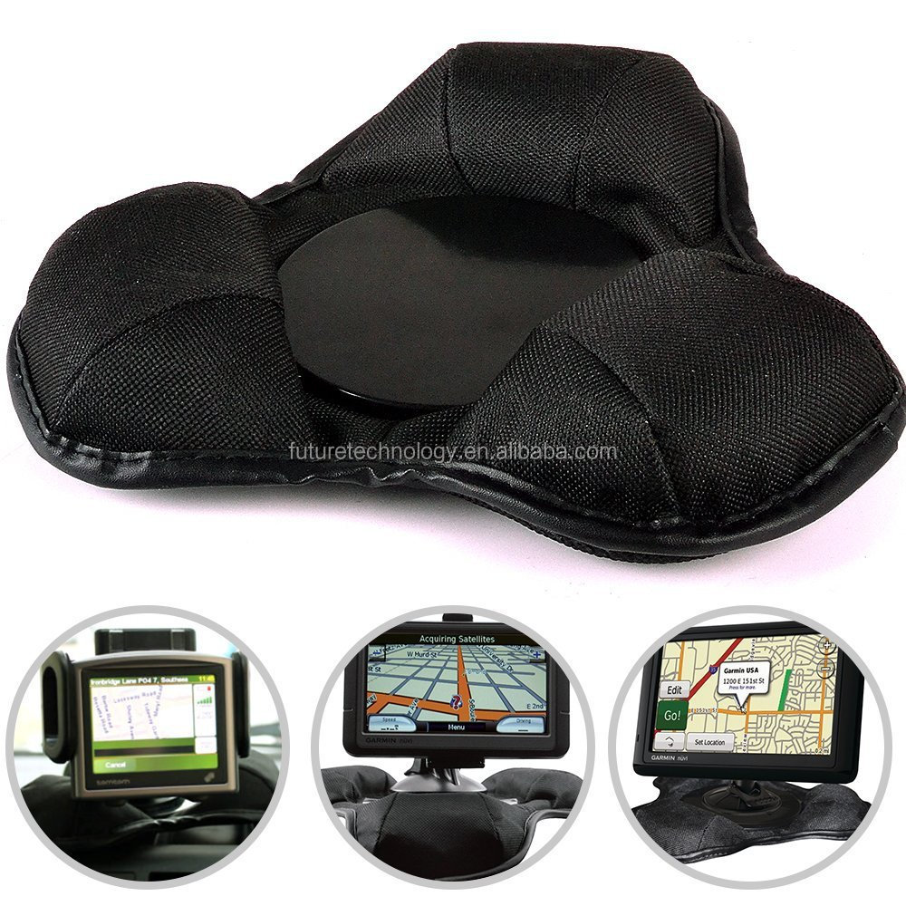 New Universal Black Weighted Beanbag In Car Gps Dashboard