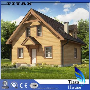 Europe Standard Well Designed Log Cabin Homes