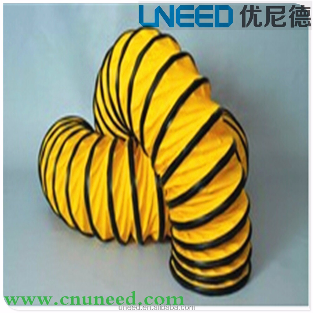 UNEED Custom Welded Exhaust Smoke Extractor Fan Flexible Air Duct Hose