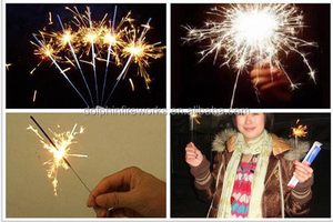 Manufacturer electric sparklers magic show sparklers