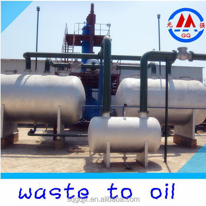 85 oil yield waste plastic oil to diesel gasoline oil for Waste motor oil to diesel