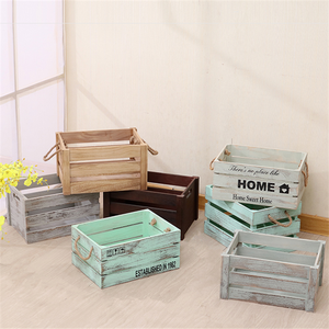 Cheap wooden fruit vegetable crates for sale