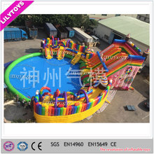 Popular Cute Sweet Candy Ice Cream Theme Kids Water Park Commercial Used