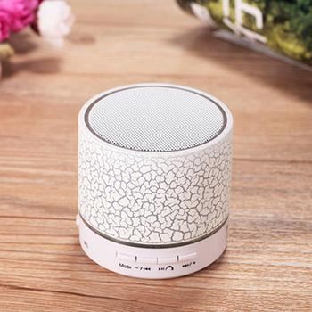 Good Promotion!Cute Wireless Remote Control Musical glowing LED Mini Bluetooth Speaker With Sucker