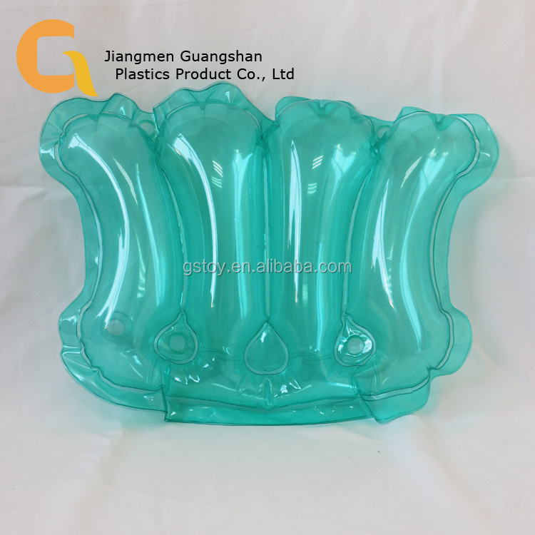 Pvc Customized Inflatable Transparent Bath Pillow - Buy Bath Pillow ...