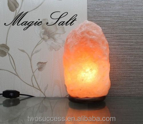 High Quality Carved Natural Crystal Himalayan Ionic Rock Salt Lamps