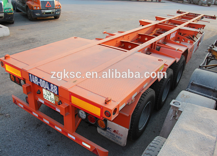 Domex Steel Yards Chassis Semi Trailer for sale