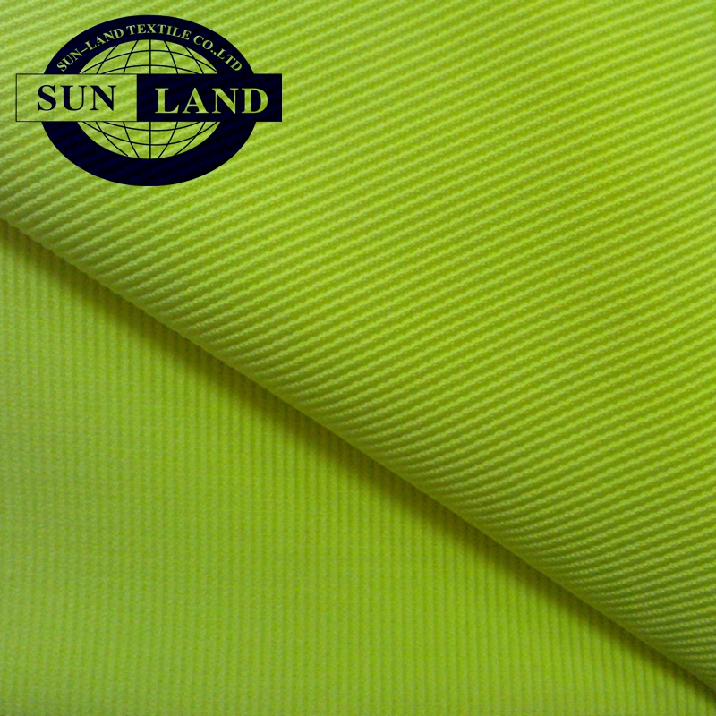 YOGA clothing fabric knit 93% cotton 7%spandex jersey fabric