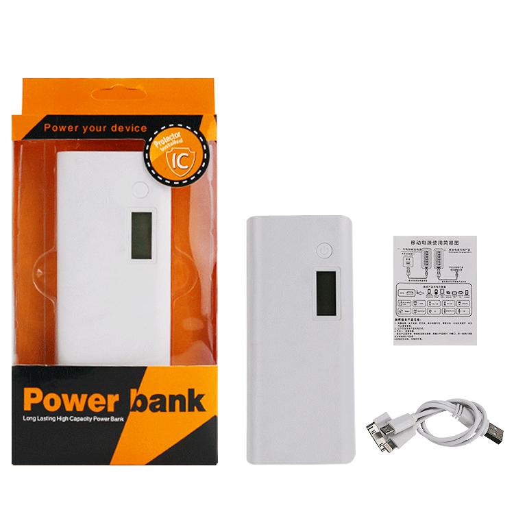 2018 high capacity power bank 10000mah factory price powr bank
