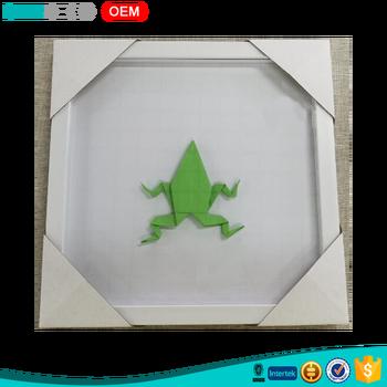 Creative Idea Frog Design Paper Folding Wholesale Wood Diy Box Frame - Buy  Diy Box Frame,Wood Diy Box Frame,Wholesale Wood Diy Box Frame Product on ...