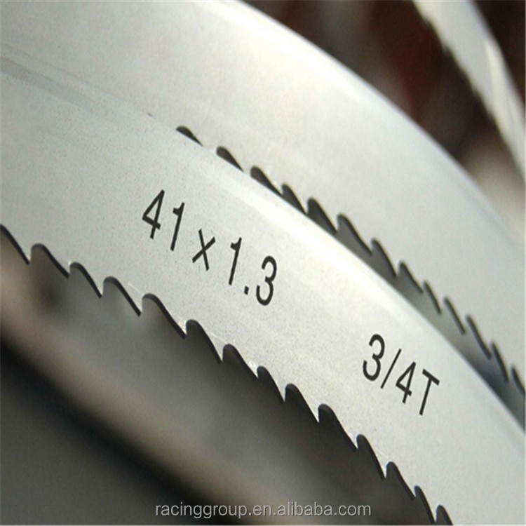 metal cutting bimetal band saw blade